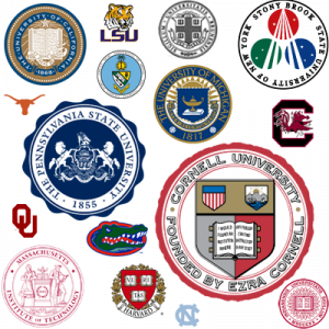 Fine colleges one and all...