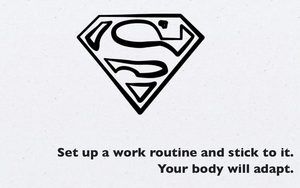 Creat a Routine