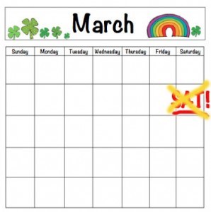 no-march-calendar