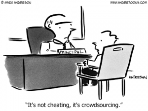 cheatingorcrowdsourcing