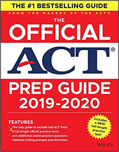 The Official ACT Prep Guide 2019-2020