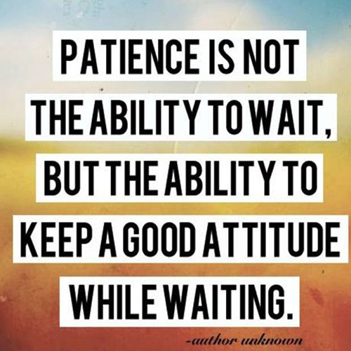Patience is Not The Ability to Wait… – Chariot Learning